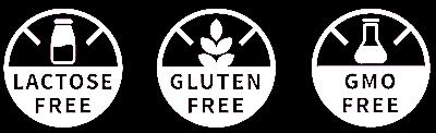 laktózmentes gluténmentes gmo mentes